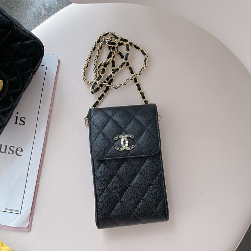 CHANEL WALLET UNIVERSAL PHONE BAG CASE IPHONE SAMSUNG
