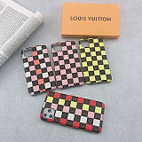 Multi Colors Checker iPhone Cases YOUBIAN