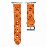 LOUIS VUITTON LV APPLE WATCH BAND 38/40MM 42/44MM LEATHER