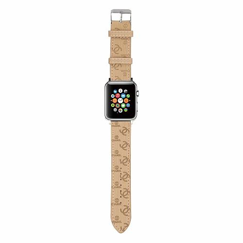 CHANEL APPLE WATCH BAND 38/40MM 42/44MM LEATHER