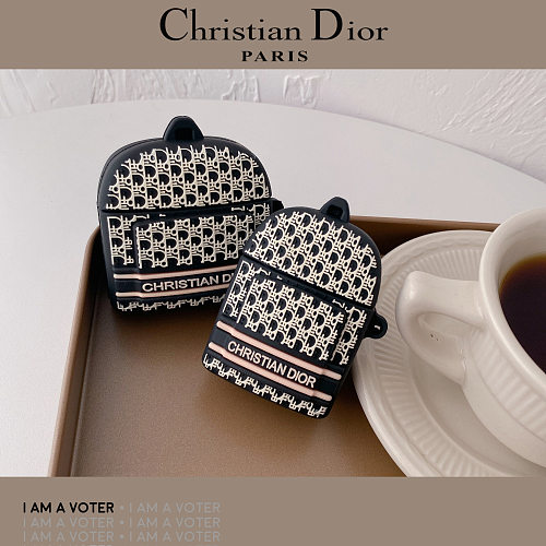 Dior Bag Designer 3D Silicon AirPods Cases For Gen 1/2 Pro