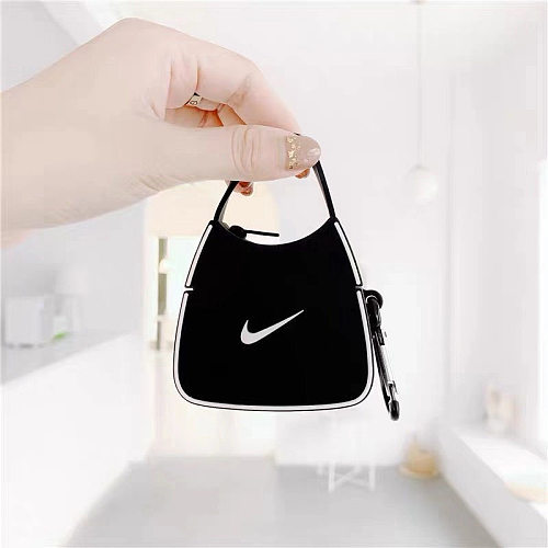 Nike Bags Design 3D Silicon AirPods Cases For Gen 1/2 Pro With Anti-lost Hook
