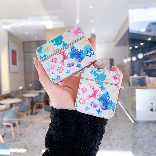 LV Inspired 3D Silicon AirPods Cases For Gen 1/2 Pro With Anti-lost Hook
