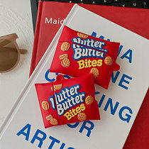 Nutter Butter Bites 3D Silicon AirPods Cases For Gen 1/2 Pro With Anti-lost Hook