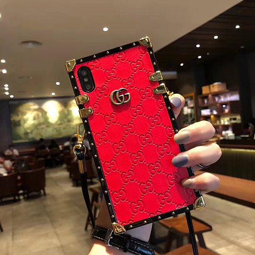 GG Designer Trunk Phone Case For Samsung Galaxy S8 9 10 11 21 Ultra Note 8 9 10 20 Ultra  Plus Case Shockproof