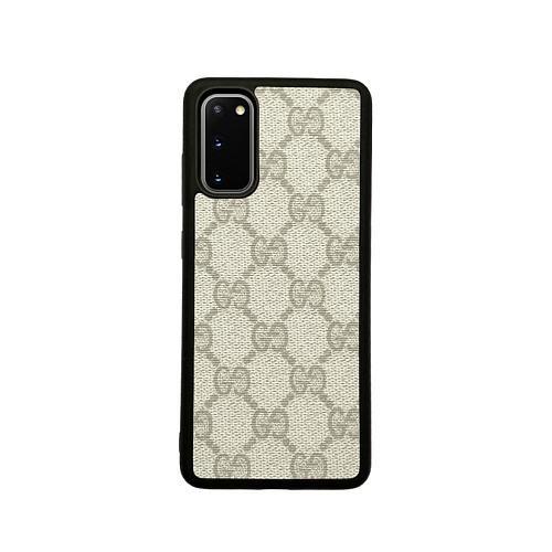 GG Designer TPU Phone Case For Samsung Galaxy S8 9 10 11 21 Ultra Note 8 9 10 20 Ultra  Plus White Black