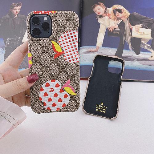 GG Apple Samsung Phone Case Galaxy S7 Edge 8 9 10 11 21 Ultra Note 5 8 9 10 20 Ultra Plus A91 YOUBIAN
