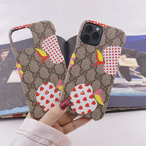 GG Apple iPhone 11 12 13 Pro Max Case 6 6s 7 8 Plus XS XR MAX Cover YOUBIAN