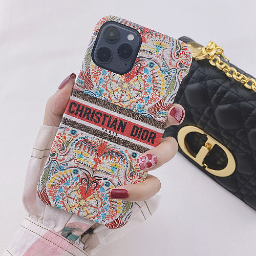 Dior Inspired iPhone 11 12 13 Pro Max Case 6 6s 7 8 Plus XS XR MAX Cover YOUBIAN