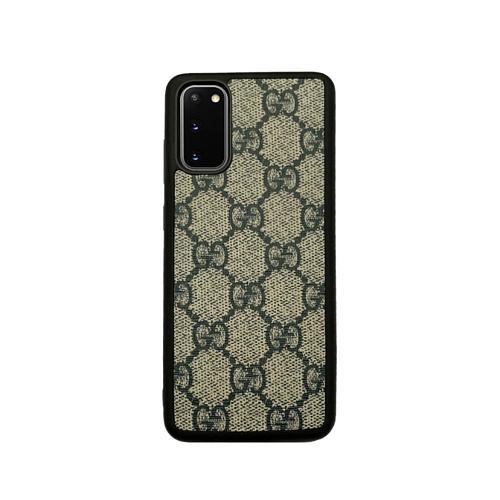 GG Luxury TPU Phone Case For Samsung Galaxy S8 9 10 11 21 Ultra Note 8 9 10 20 Ultra  Plus White Black