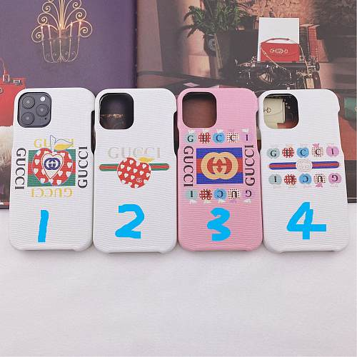 GG Apples Designer Samsung Phone Case Galaxy S7 Edge 8 9 10 11 21 Ultra Note 5 8 9 10 20 Ultra Plus A91 YOUBIAN