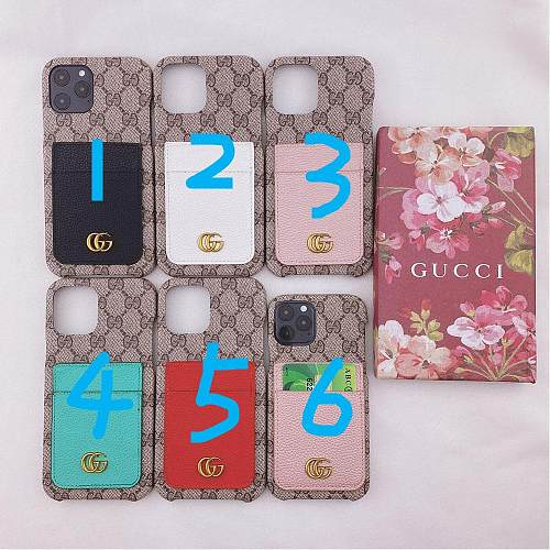 GG Samsung Designer Phone Case Galaxy S7 Edge 8 9 10 11 21 Ultra Note 5 8 9 10 20 Ultra Plus A91 With Card Pocket YOUBIAN