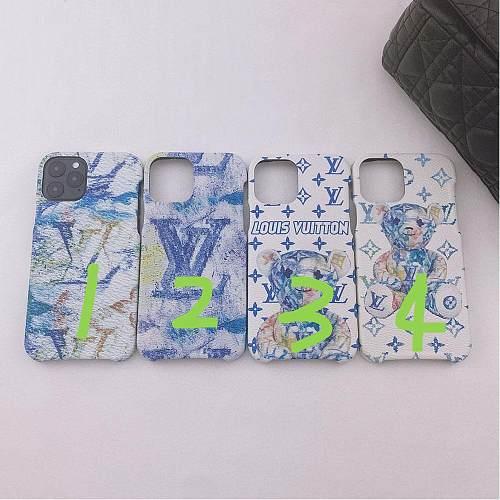 LV Bear Designer Samsung Phone Case Galaxy S7 Edge 8 9 10 11 21 Ultra Note 5 8 9 10 20 Ultra Plus A91 YOUBIAN