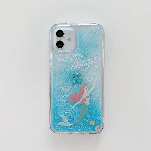 Princess Quicksand iPhone Cases For 7 8 Plus XS XR MAX 11 12 Pro Max