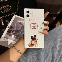 GG Chanel  Square Single iPhone Cases For 7 8 Plus XS XR MAX 11 12 Pro Max