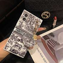 Dior Square With Pendant iPhone Cases For 7 8 Plus XS XR MAX 11 12 Pro Max