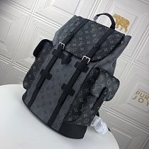 LV M45419 Christopher Small Backpack 08260 Black