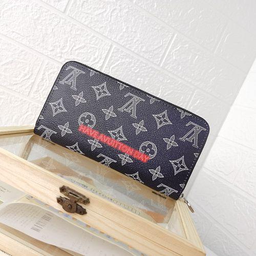 LV Vivienne M60017 MULTIPLE Long Zipper Wallets With Box 0727075