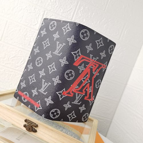 LV BRAZZA M62665 Long Folded Wallets With Box 0727075