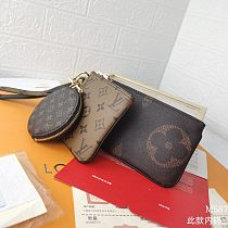 LV M68756 3 Pieces Pendants Coins Bag Wallets With Box  0727095