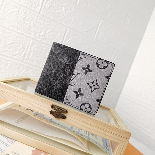 LV Split M60895/63025 Short Folded Wallets With Box 0727060