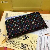 LV Multi Color M60017 Long Zipper Wallets With Box 0727065