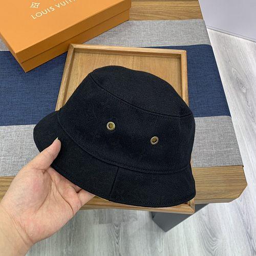 Louis Vuitton LV  Double Side Fishman Hat Yellow Black