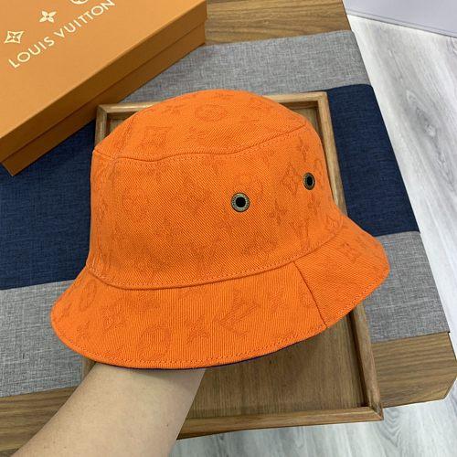 Louis Vuitton LV  Double Side Fishman Hat Orange
