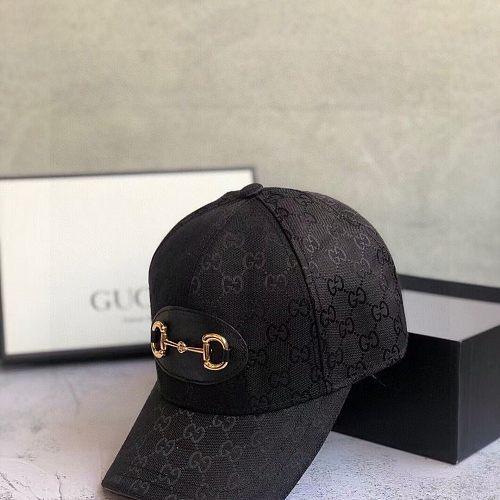 GG Designer Cap Hat Black