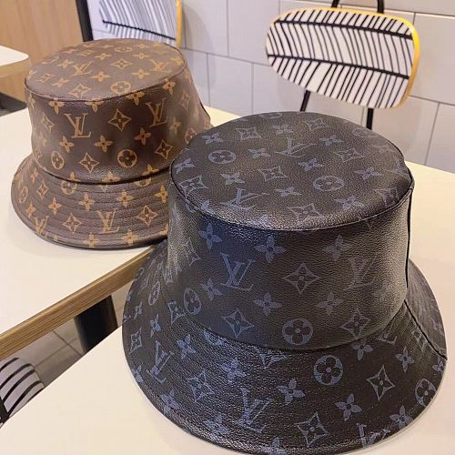 Louis Vuitton LV Classic Leather Fishman Hat
