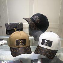Louis Vuitton LV  Caps Hats White Brown Black