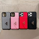 PRADA WALLET PHONE CASE COVER FOR IPHONE 12  WITH CARD HOLDER SLOTS/ PHONE CASE ONLY