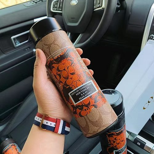 COACH WATER DRINK BOTTLE WITH DIGITAL DISPLAY
