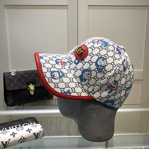 GG Designer Cap Hat With Cartoon Pattern