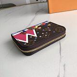 Louis Vuitton LV Zippy Coin Bag Change Holder 0909075