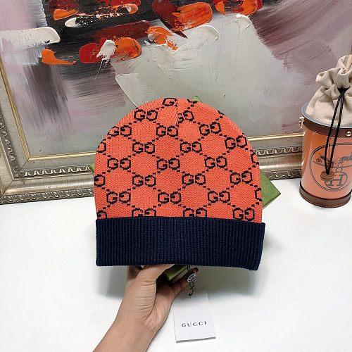 GG Designer Knitted hat Unisex Warm hat