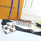 Louis Vuitton LV M80091∕61276 Two Pieces CrossBody Bag Change Holder 0909165
