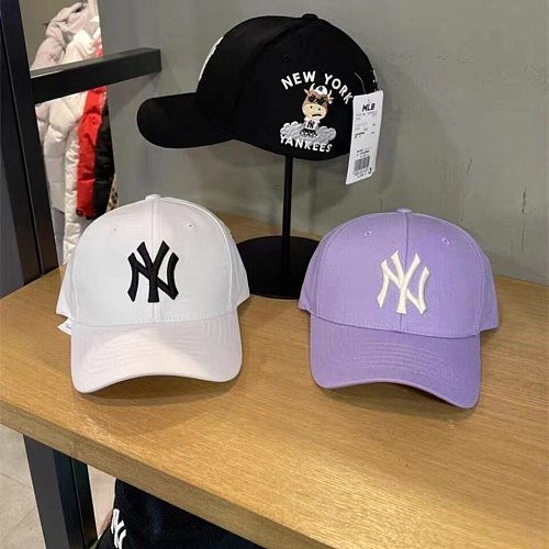 NY(MLB) Designer Cap Hat White Black