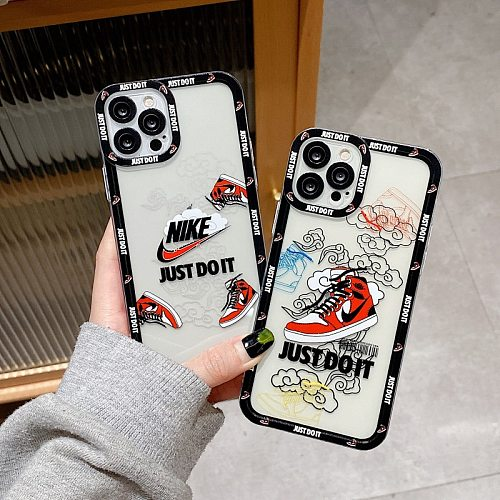 Nike Adidas Phone Case for iphone 7 8 XS XR 10 11 12 PRO MAX