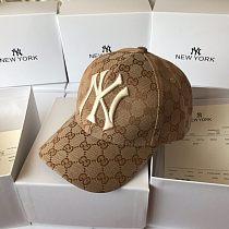 GG With NY(MLB) Designer Baseball Cap