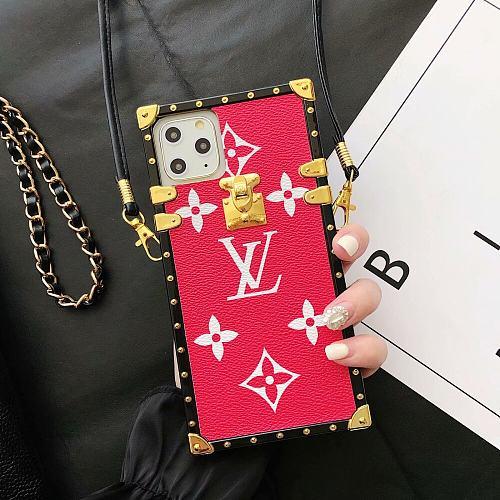 LV LOUIS VUITTON FASHION PAIR SHOW PHONE CASE FOR IPHONE 13 12 11 PRO MAX XS MAX XR XS 7 8 PLUS
