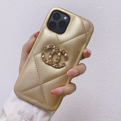 CHANEL PHONE CASE FOR IPHONE 13 12 11 PRO MAX XR XS 7 8 PLUS