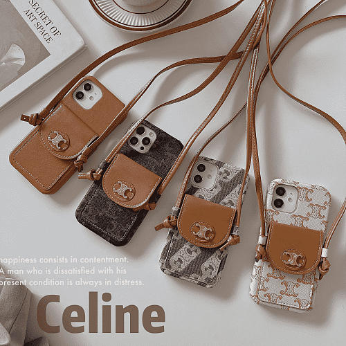Celine Card Holder IPHONE CASE FOR IPHONE 13 12 11 PRO MAX XS MAX XR XS 7 8 PLUS