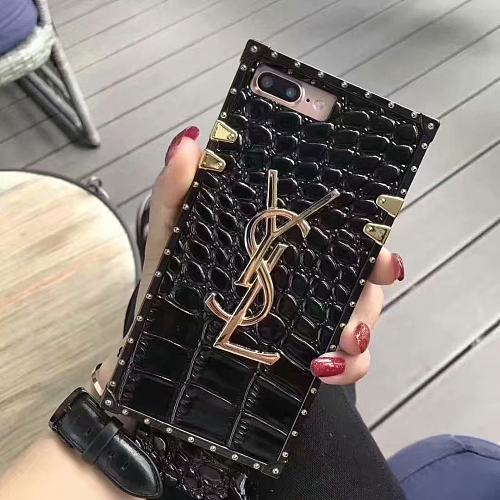 YSL SQUARE PHONE CASE FOR IPHONE 13 12 11 Pro Max Xs XR 7 8 Plus 3 COLORS