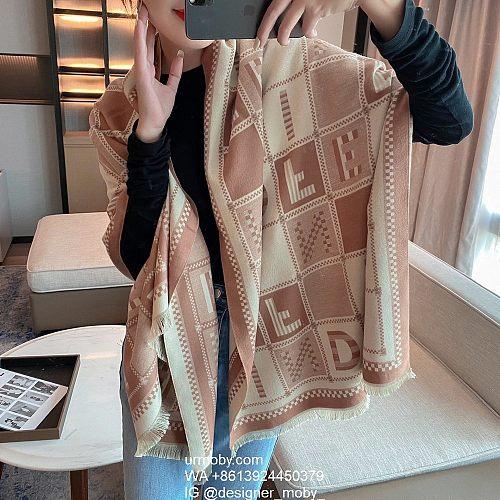 Fendi Scarf FF Shawl designer fendi scarf 3 Colors