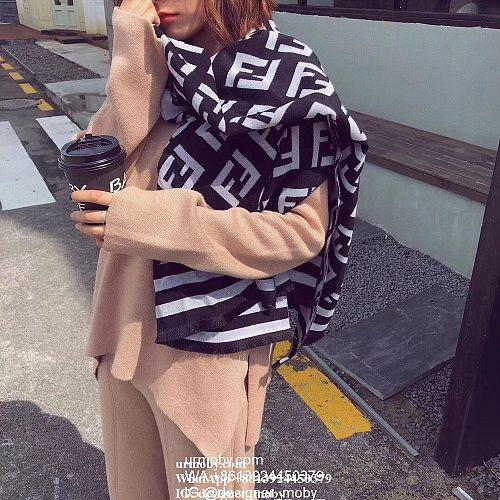 Fendi Scarf FF Shawl designer fendi scarf