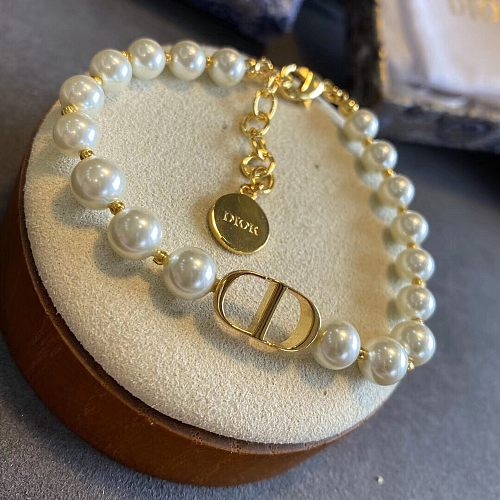 DIOR Pearl BRACELET  WITH GIFT BOX