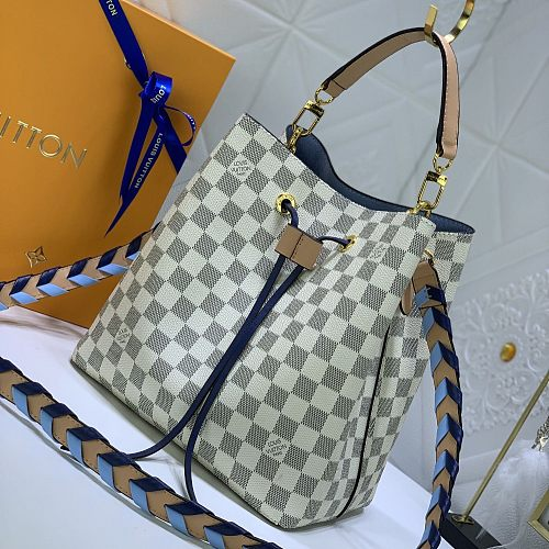 Louis Vuitton Néonoé MM Bucket Bag LV shoulder bag N50042