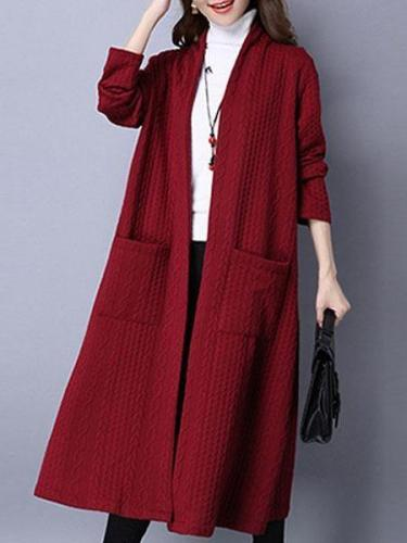 Women's Cotton Coat Thickened  Outerwear