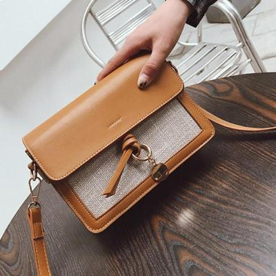 Womens Casual Vintage PU Crossbody Bags